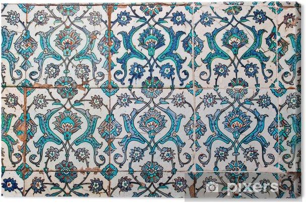Quadro su tela piastrelle decorate stile arabo u2022 pixers® viviamo