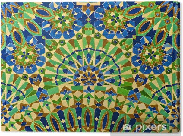 Quadro su tela piastrelle marocchina u2022 pixers® viviamo per il