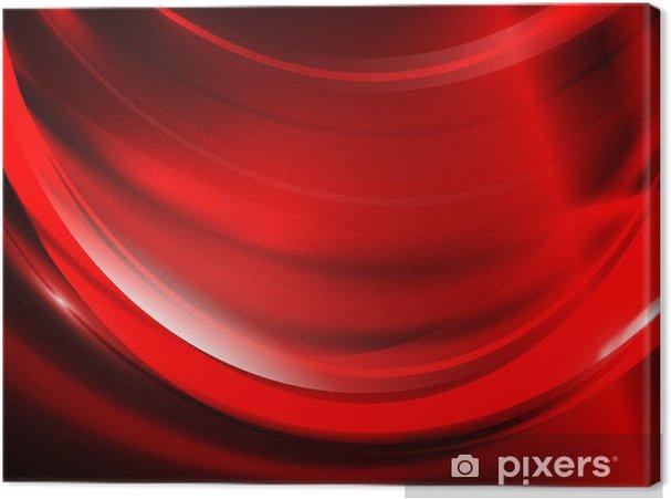 Quadro su tela red passion u2022 pixers® viviamo per il cambiamento