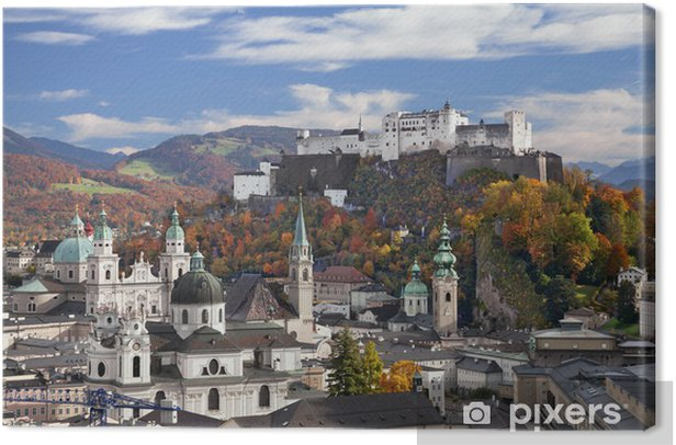 Quadro su Tela Salisburgo, Austria - Europa