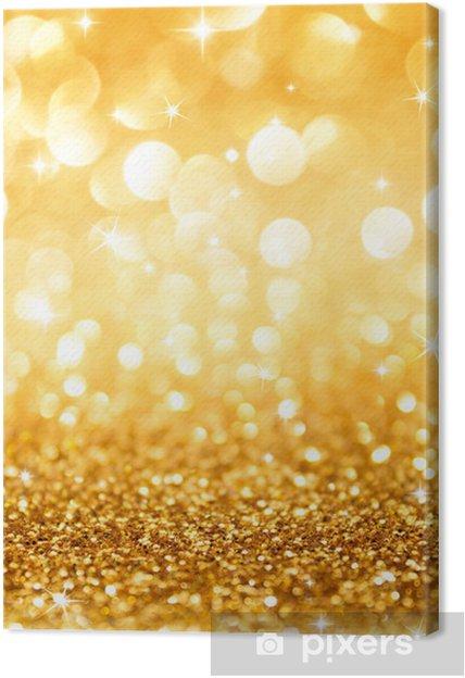 Sfondi Natalizi Oro.Quadro Su Tela Scintillio D Oro E Le Stelle Di Natale Sfondo Verticali