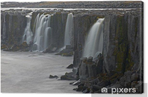 Quadro su Tela Selfoss cascata Islanda - Europa