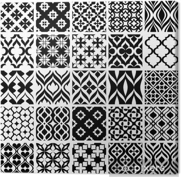 f69af3d8c2 Quadro su Tela Set di decori in bianco e nero • Pixers® - Viviamo ...