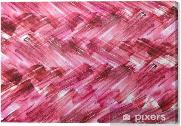 Quadro Su Tela Sfondo Acquerello Astrazione Rosso Bordeaux Vernice Rosa Colori Spruzzi Di Vernice Utilizzato Per Una Varietà Di Design E