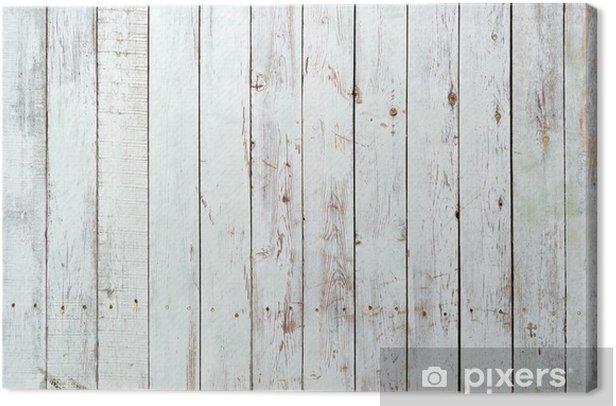 Quadro su Tela Sfondo bianco e nero di tavolato in legno -