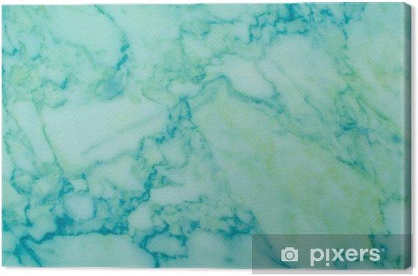 Quadro Su Tela Sfondo Di Natura Modello Di Marmo Verde E Blu