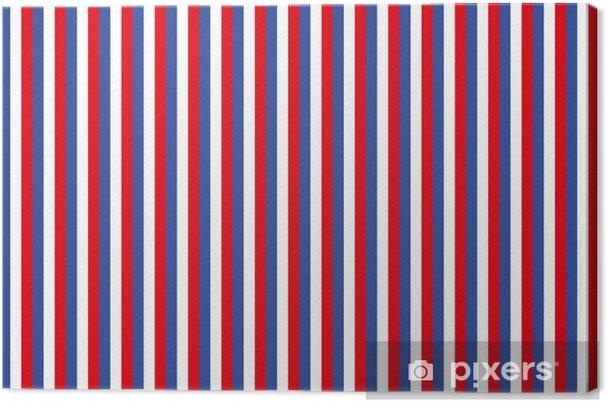 Quadro Su Tela Sfondo Di Strisce In Rosso Bianco E Blu Pixers
