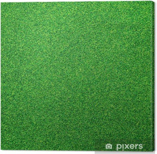 Quadro Su Tela Sfondo Verde Erba Pixers Viviamo Per Il Cambiamento