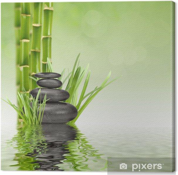 Quadro su Tela Spa stones - Stili