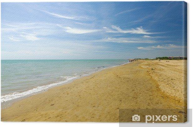 Quadro su Tela Spiaggia - Europa