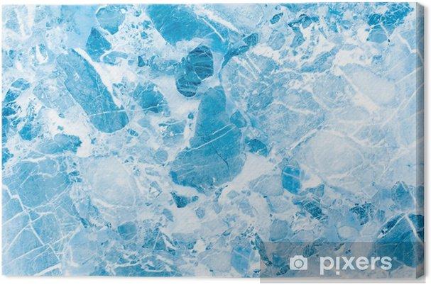 Quadro Su Tela Texture Di Sfondo Blu Marmo Struttura Blu Cielo Del