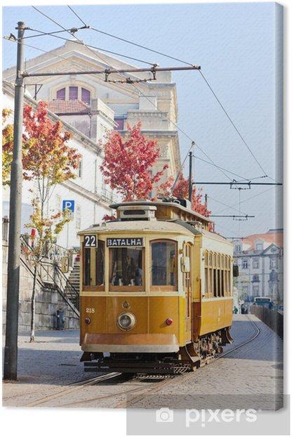 Quadro su Tela Tram, Porto, Portogallo - Europa
