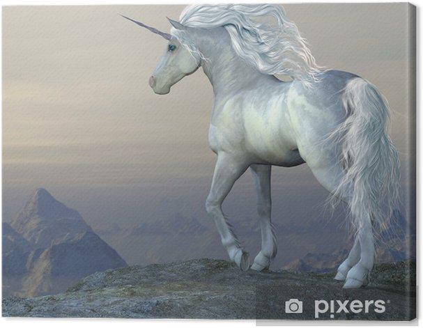 Quadro su Tela Unicorn Bluff -