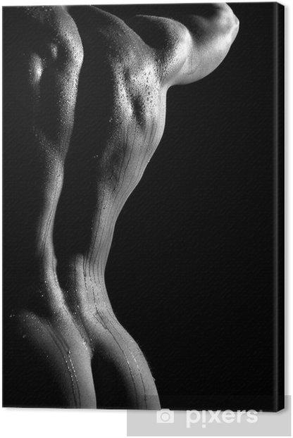 Quadro su Tela Uomo nudo - iStaging