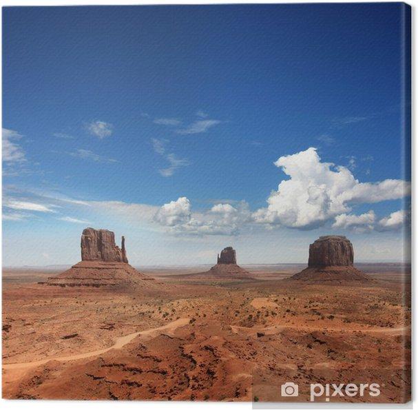 Quadro su Tela USA - Monument valley - America