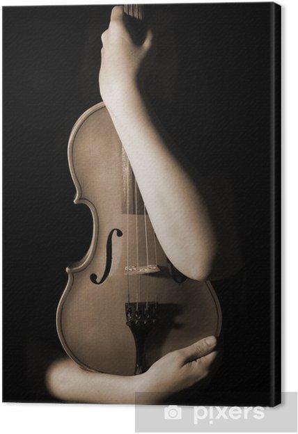 Quadro su Tela Vecchio violino - Temi