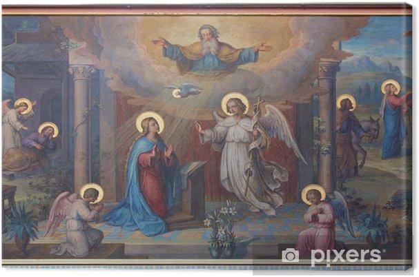 Quadro su Tela Vienna - Annunciation fresco in Carmelites church - Temi