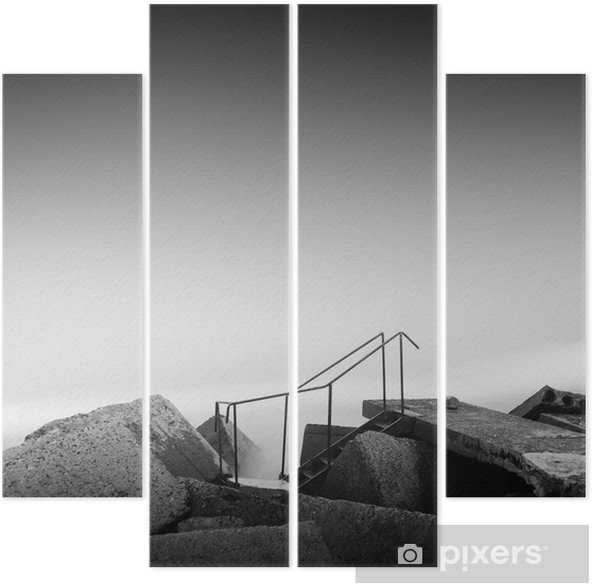 steps to nowhere Quadriptych - Travel