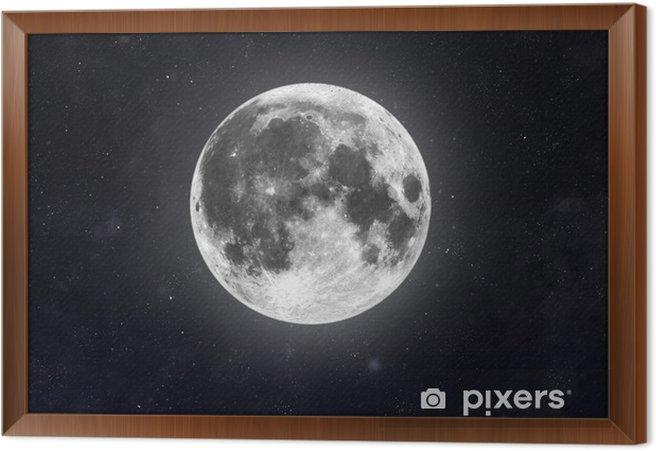 Quadro com Moldura Moon - Espaço