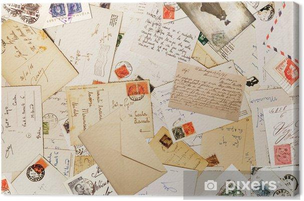 Quadro em Tela corrispondenza vintage - Estilos