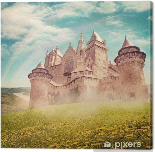 Quadro em Tela Fairy tale princess castle - Temas