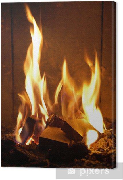 Quadro em Tela flames #21 - Desastres Naturais