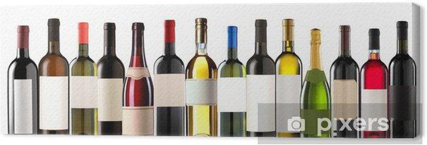 Quadro em Tela Group of several bottles - Decalque de parede