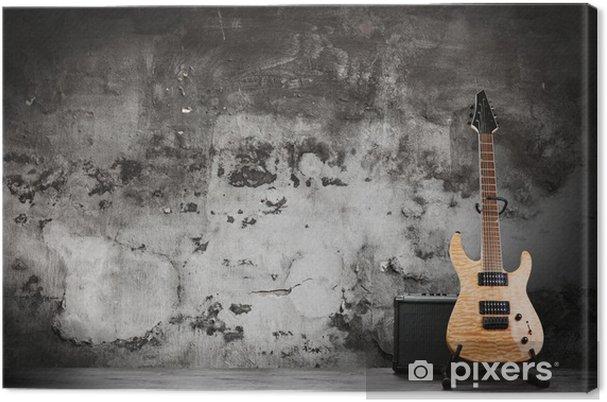 Quadro em tela guitarra elétrica moderna u2022 pixers® vivemos para mudar