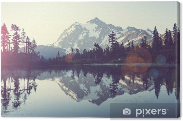 Quadro em Tela Imagem lago - iStaging