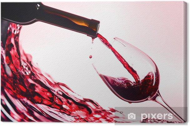 Quadro em Tela Red wine - Vinho
