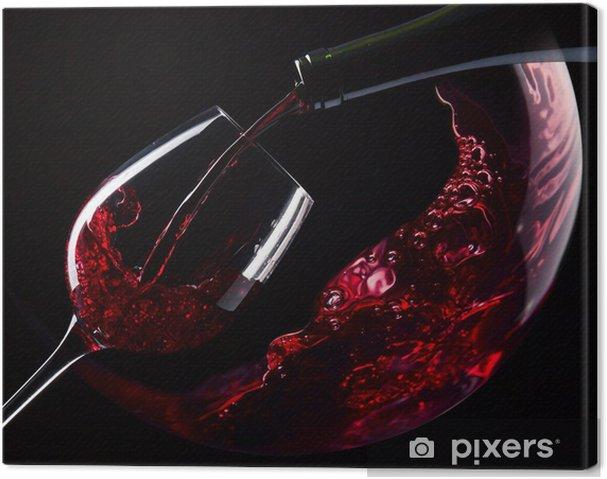 Quadro em Tela red wine - Temas
