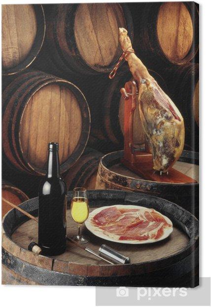 Quadro em Tela sherry wine cellar - Temas