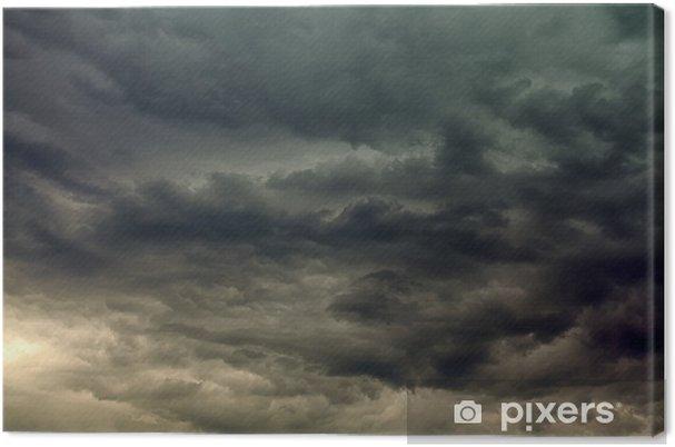 Quadro em Tela Stormy clouds - Céu