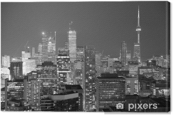Quadro em Tela Toronto dusk - Estilos