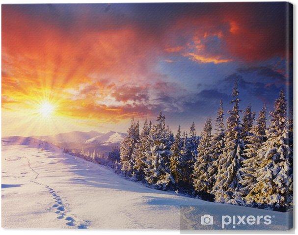Quadro em Tela winter -