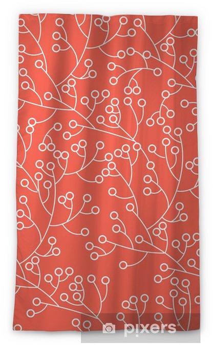 Rideau occultant Texture florale - Arrière plans
