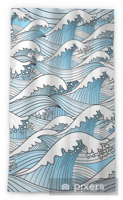 Rideau transparent Texture des vagues - Destin