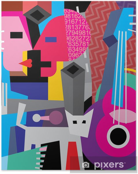 Selbstklebendes Poster Der Tanz - Themen