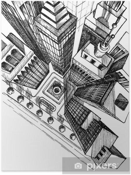 Städte Zeichnen