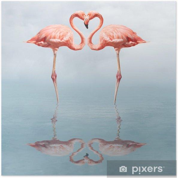 Selbstklebendes Poster Making love - Adler