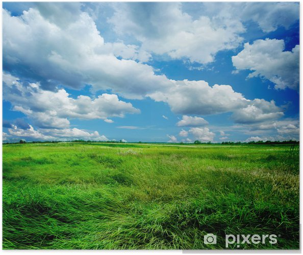 Beautiful Nature Landscape Self-Adhesive Poster - Themes