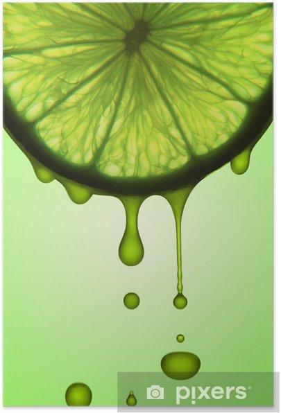 lemon juice Self-Adhesive Poster - iStaging