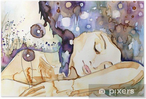marzenia senne Self-Adhesive Poster - Themes