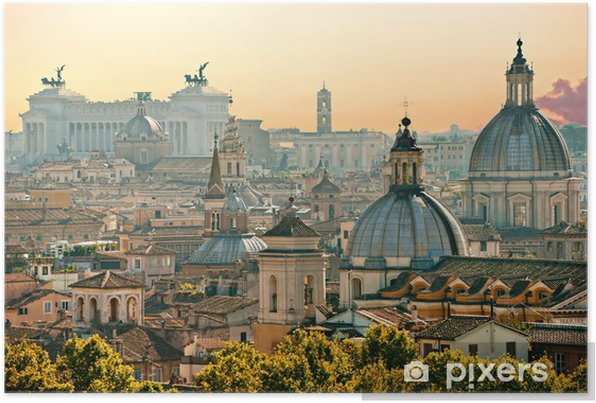 Rome, Italy. Self-Adhesive Poster - Themes
