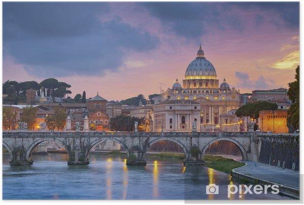 Rome. Self-Adhesive Poster - Themes