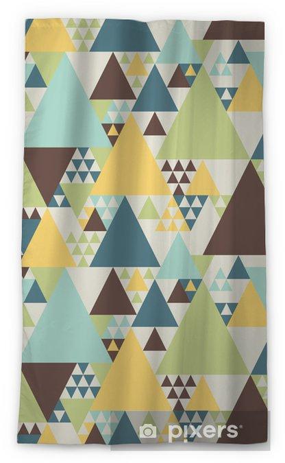 Abstract geometric pattern #2 Sheer Window Curtain - Styles