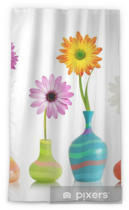 Daisy flowers in vases Sheer Window Curtain  sc 1 st  Pixers & Daisy flowers in vases Sheer Window Curtain \u2022 Pixers® - We live to ...
