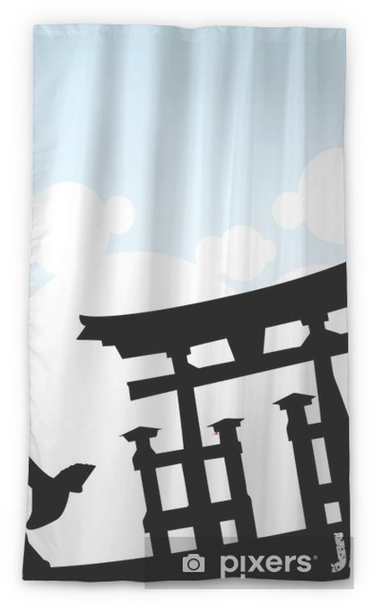 Anese Style Sheer Window Curtain