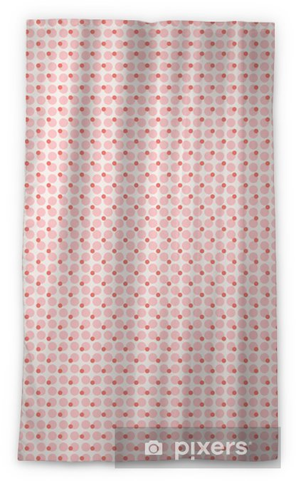 seamless dots pattern Sheer Window Curtain - Graphic Resources