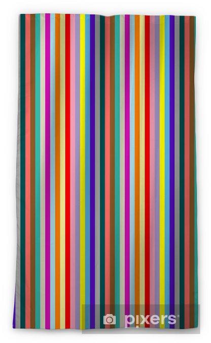 stripes 3 Sheer Window Curtain - Themes